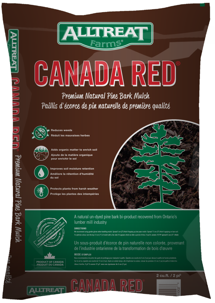 Canada Red Mulch (new bag 2014) #11002s