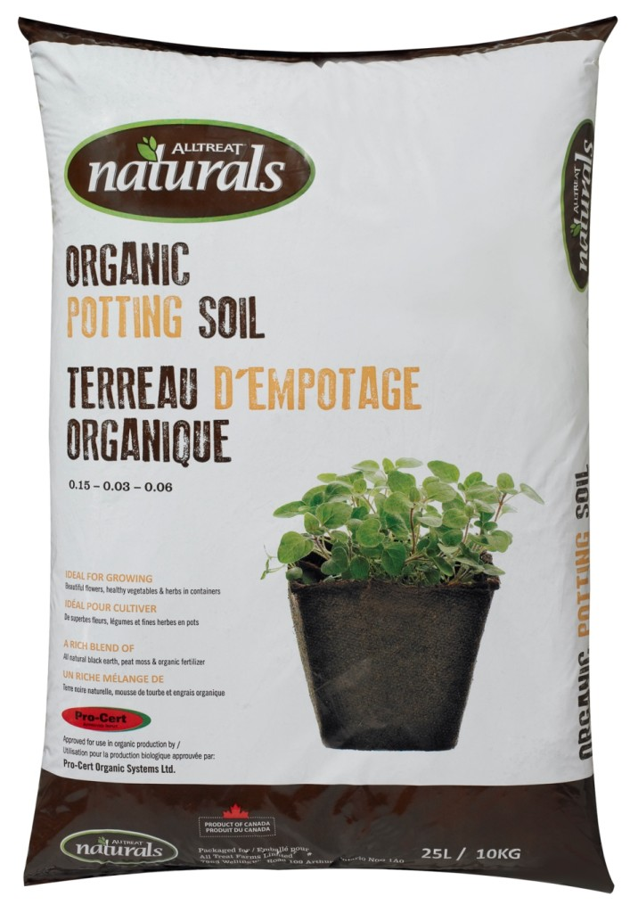 AT Naturals Organic Potting Soil 25L #10083