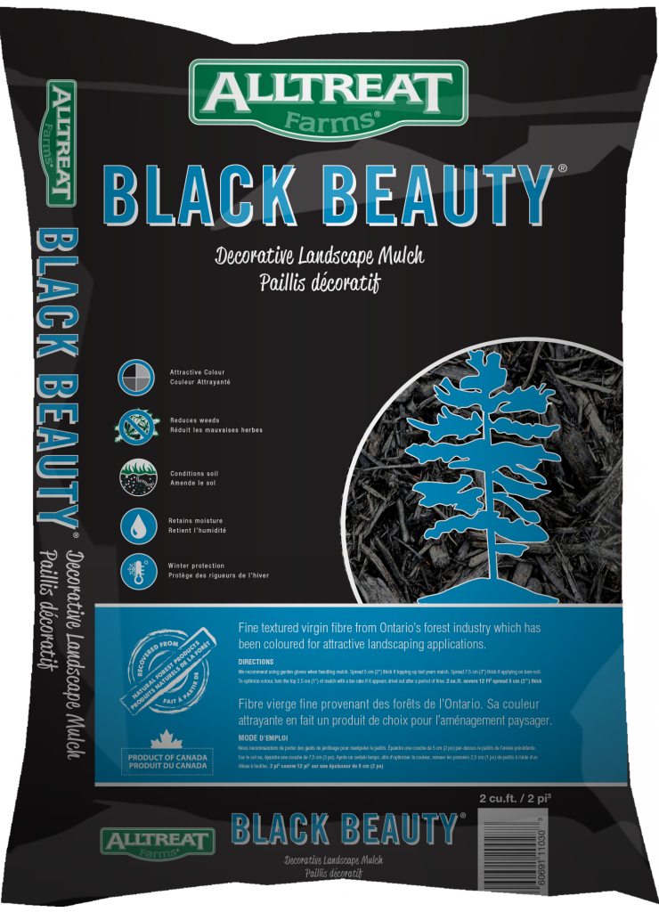 Black Beauty Mulch New Bag 2014 #11030